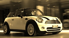 Waleed Ali Khan's dream car - mini cooper